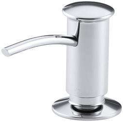 KOHLER K-1895-C-CP Soap or Lotion Dispenser with Contemporar