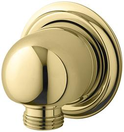 Kohler K-355-PB Forte Supply Elbow, Vibrant Polished Brass