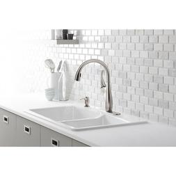 Kohler K-R72511-SD-VS Mazz 2-Hole Kitchen Faucet with 15-1/2