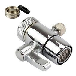 Weirun Kitchen Bathroom Sink Faucet Water Filter Diverter Va