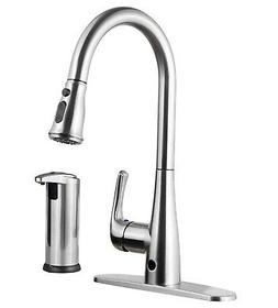 Templeton Kitchen Faucet - Touch-Free Automatic Spray & Bonu