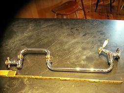 Franke kitchen faucet pot filler model PF2009 chrome/gold ti