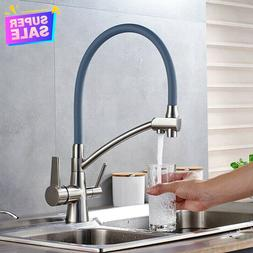 Kitchen Sink Faucet Pull-Out Water Filter Purifier Pure Wate