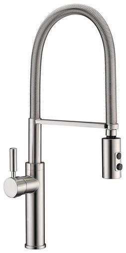 kitchen sink faucet single handle solid brass