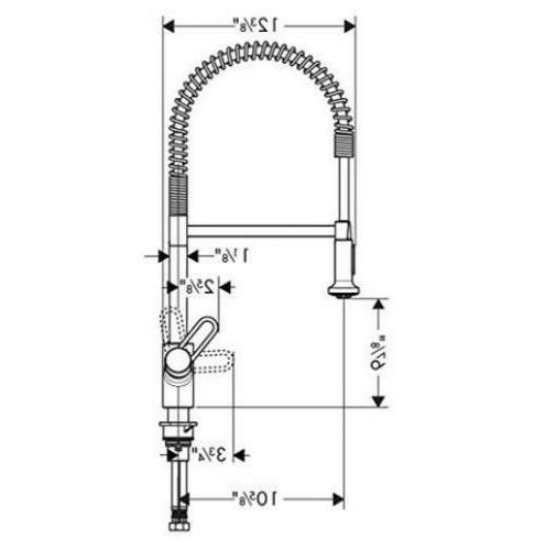 Hansgrohe 04700005 Talis Loop Kitchen Faucet 23 6 Quot Height