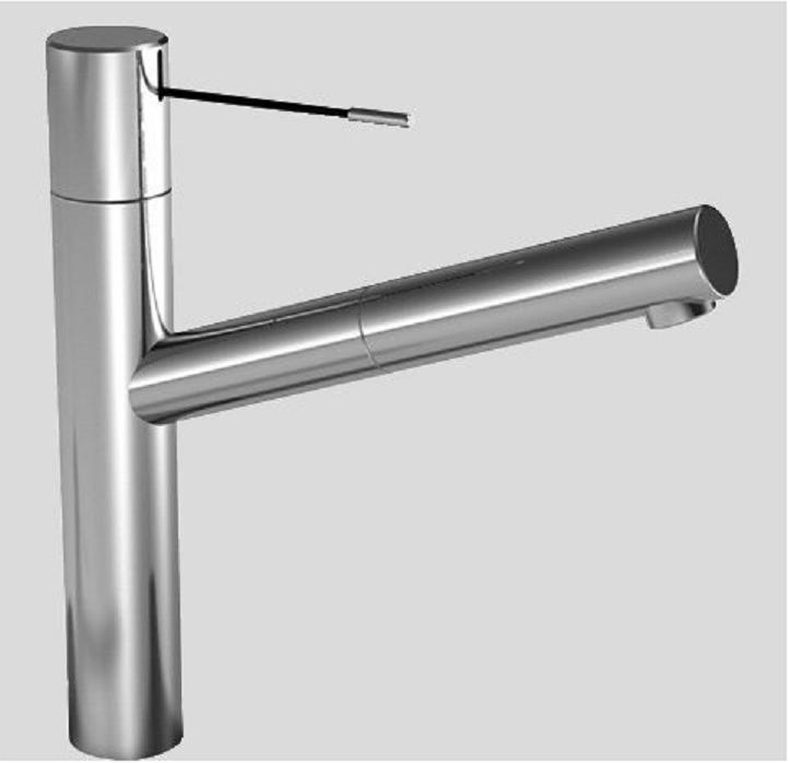 KWC 10.151.113.700DL Faucets ONO Pull Out Kitchen Faucet in