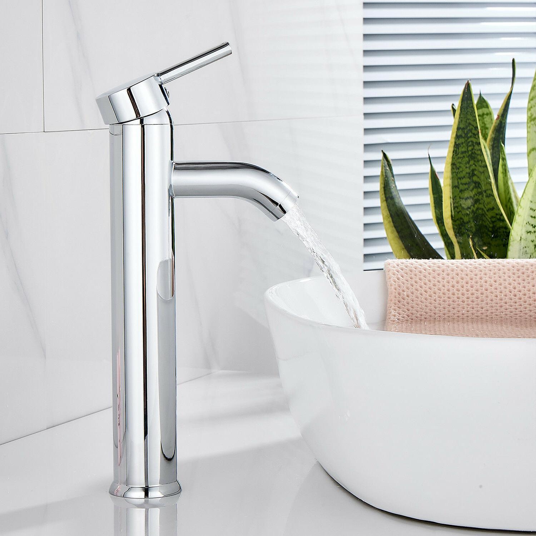 HOROW Vessel Sink Faucet Handle Chrome