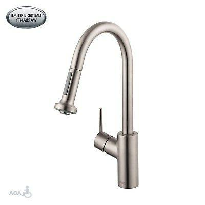 Hansgrohe Talis S 2 Spray Higharc Kitchen Faucet Pull Down