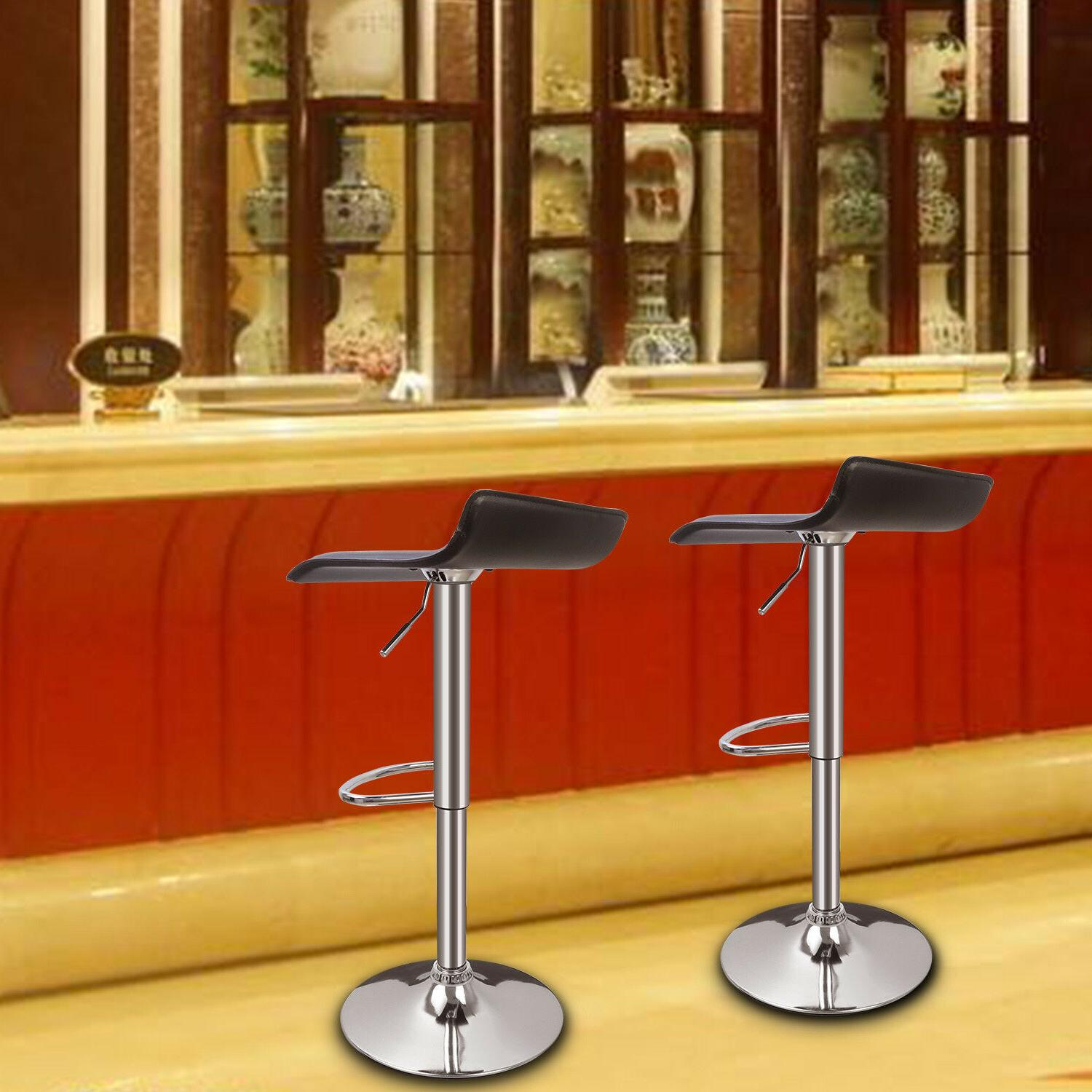 2 PCS Stools Counter Height Chairs