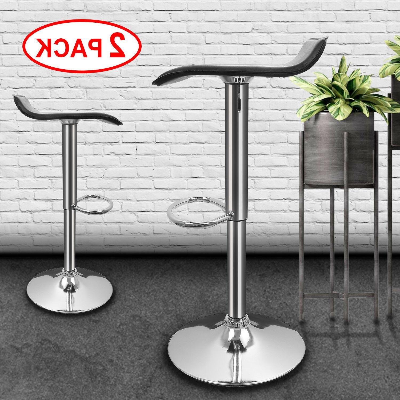 2 pcs adjustable bar stools counter height