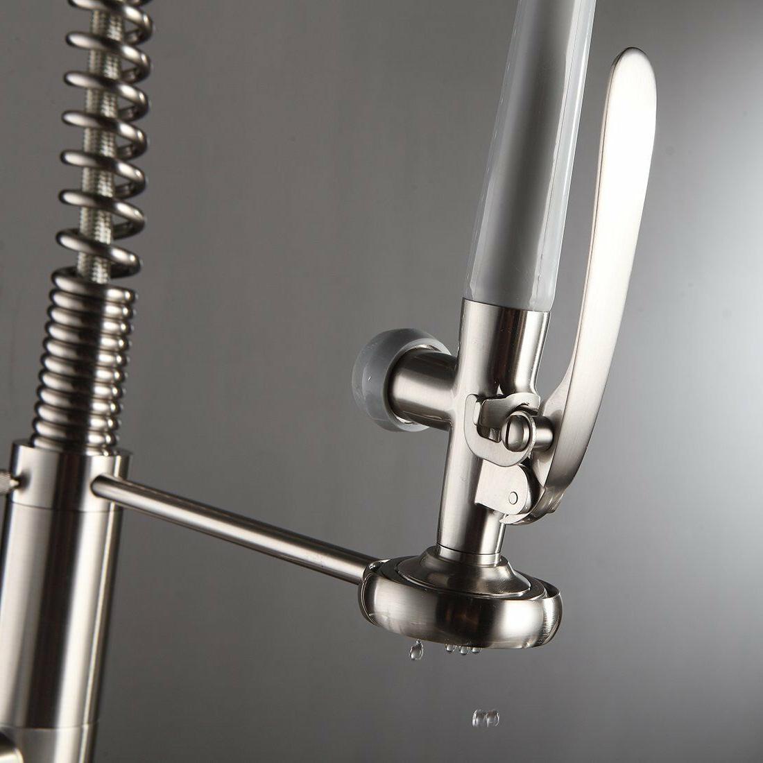 Sink Faucet Brass Tap Nickel