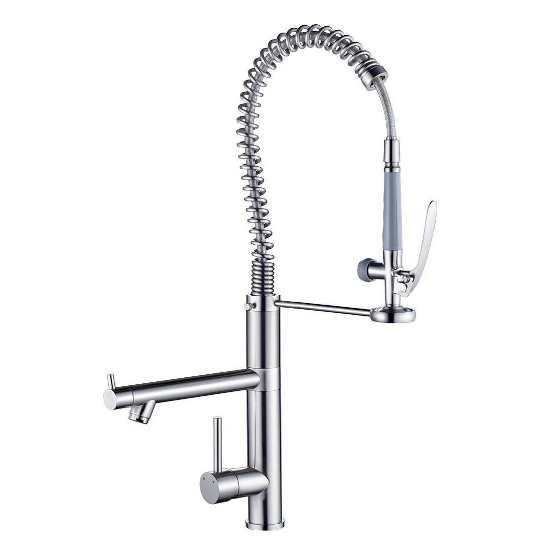28'' Pre-Rinse Kitchen Sink Brass Tap