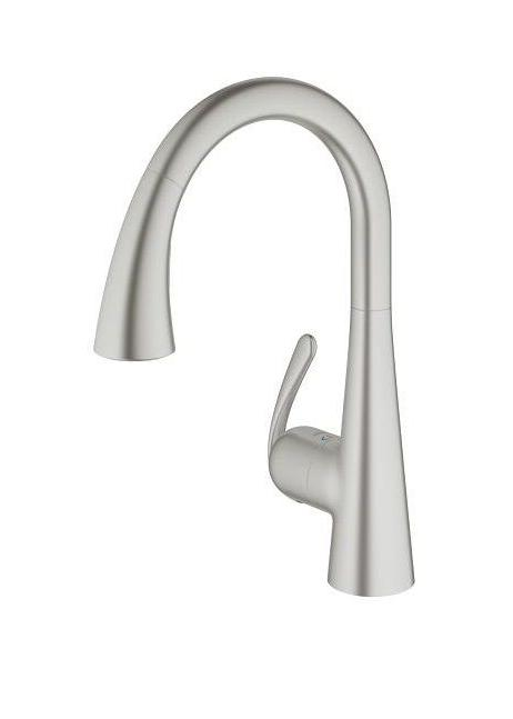 Grohe 32298DC1 Ladylux3 Pull-Out Dual Spray Kitchen Faucet,