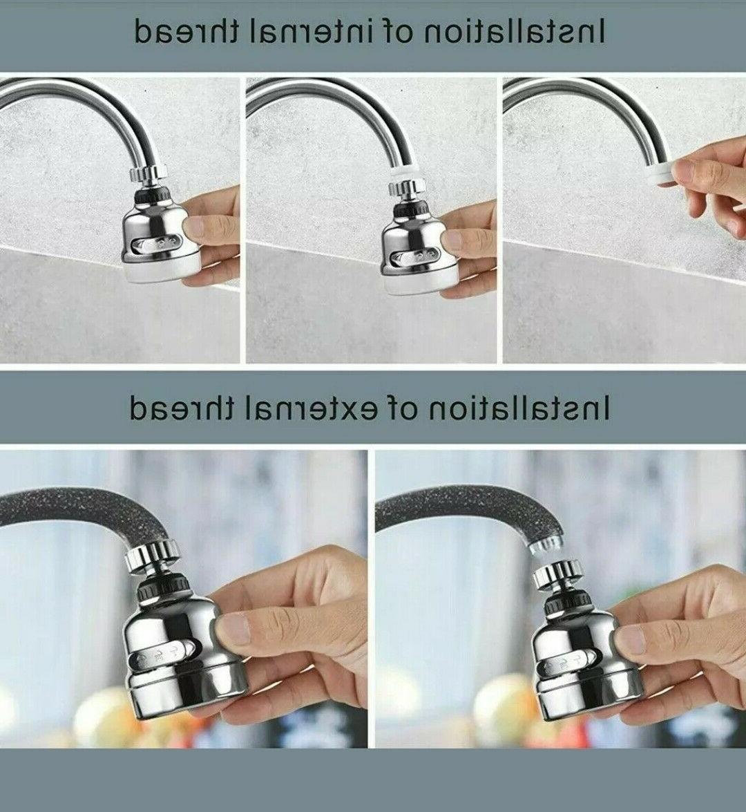 360 Degree Rotating Water
