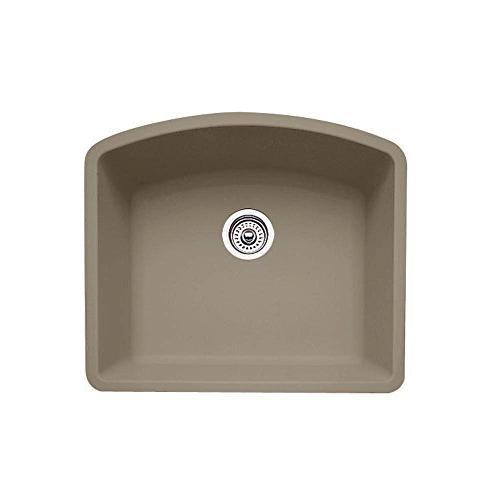 Blanco 441281 Diamond Single Bowl Silgranit II Sink, Truffle