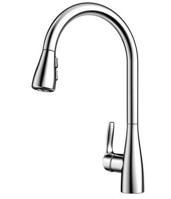 BLANCO 442205 ATURA  Pull-Down Kitchen Faucet, Chrome Finish