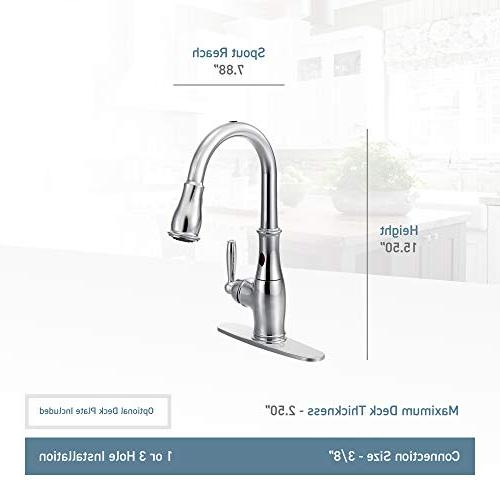 Moen 7185EORB with MotionSense One-Handle Kitchen Faucet Oil-Rubbed Bronze