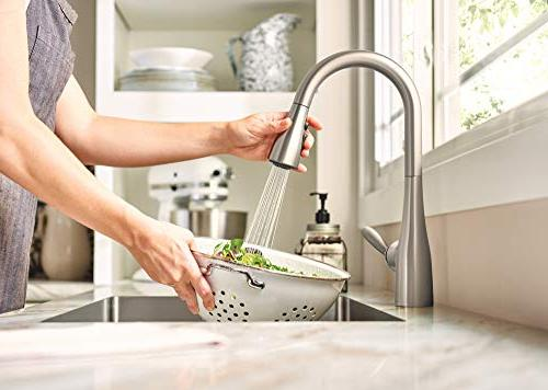 Moen Arbor One-Handle Arc Faucet Featuring Reflex, Stainless