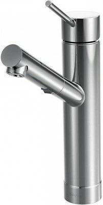 Moen 7626C Tilt One-Handle Low Arc Pullout Kitchen Faucet, C