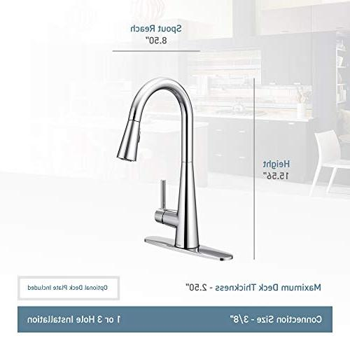High Pulldown Faucet Spot Stainless
