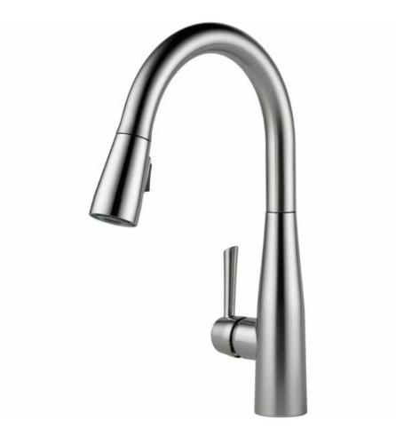 Delta Faucet 9113-AR-DST Single Handle Pull-down Kitchen Fau