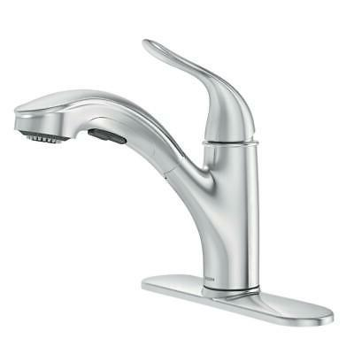 brecklyn single handle pull kitchen