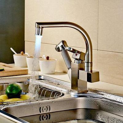 Rozin LED Swivel Kitchen Sink Faucet Mix