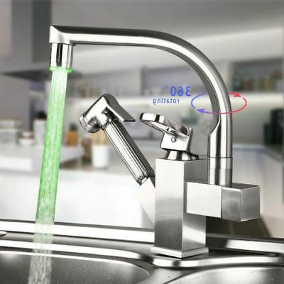 Rozin Brushed Swivel Faucet Mix Tap