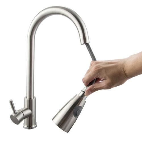 Brushed Sink Bar Tap