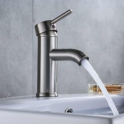 Rozin Basin Sink Faucet Mixer + Cover Brushed Nickel