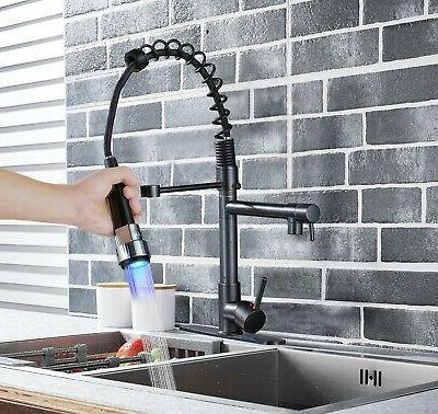 Rozin Kitchen Sink Light Pull Down Mixer