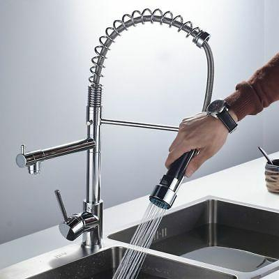 Chrome Swivel Pull Mixer Tap