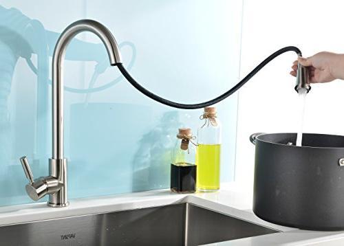 VAPSINT Stainless Steel Kitchen Kitchen Sink Faucet