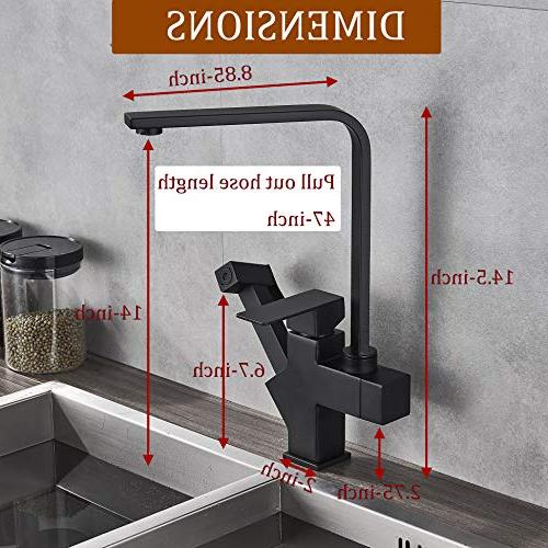 Rozin Deck Mounted Pull out Sprayer Faucet