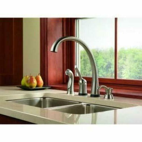 Delta Kitchen Soap Dispenser for Sinks Chrome