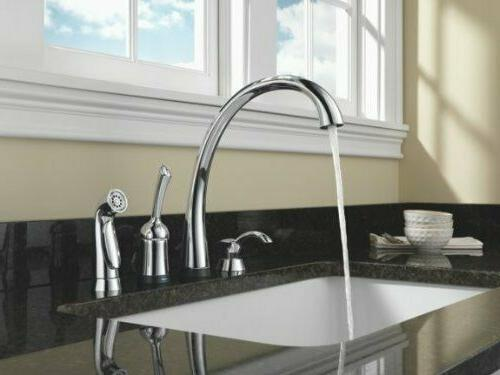 Delta Pilar Kitchen Soap Dispenser Kitchen Sinks Chrome