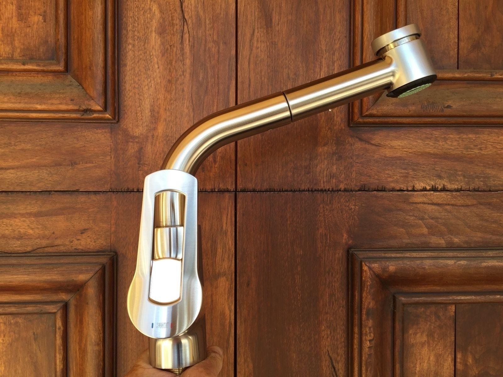 divo arco kitchen pull out faucet stainless