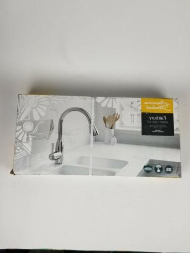 American Fairbury Pull-Down Sprayer Kitchen Faucet Chrome