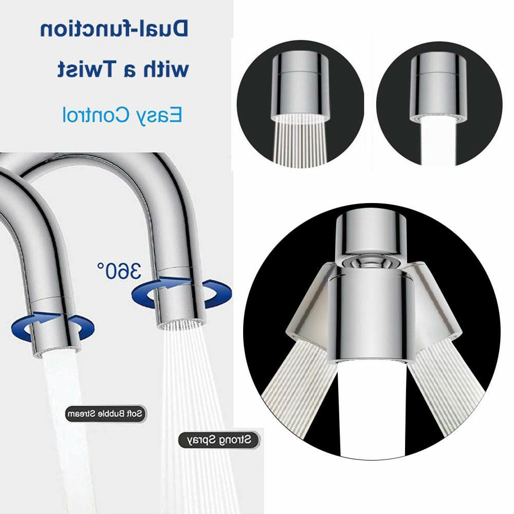Waternymph Faucet Aerator Dual Function - Kitchen Sink Aerat