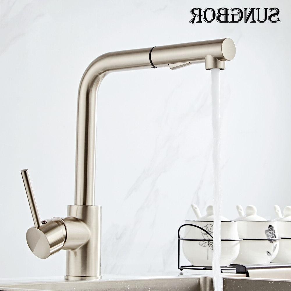<font><b>Kitchen</b></font> <font><b>Faucets</b></font> Handle Out Tap Hole Swivel 360 Mixer CF-9116