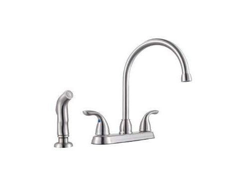 Pfister G136500S Series 2-Handle Kitchen Faucet Spray, Minute, Stainless