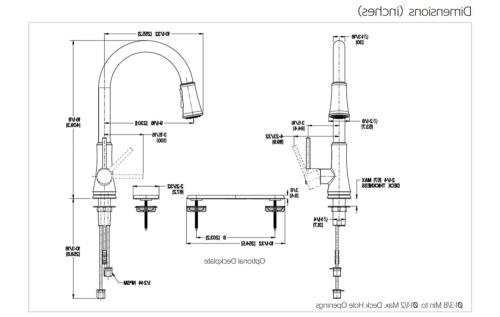 Pfister Series Stainless Steel Kitchen Faucet