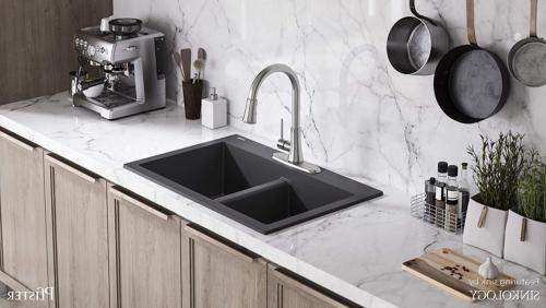 Pfister Pfirst Series Stainless Steel 1-Handle High-arc Kitchen