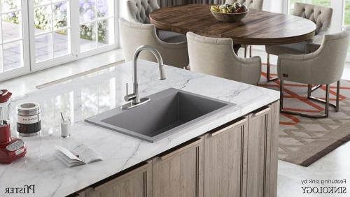Pfister Pfirst Series Stainless Kitchen Faucet