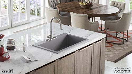 Pfister G529-PF1S Series Stainless Kitchen Faucet