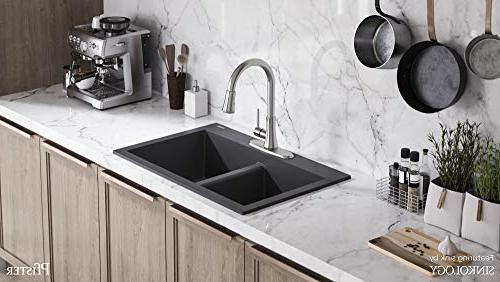 Pfister Pfirst Series Stainless Steel High-arc Kitchen Faucet