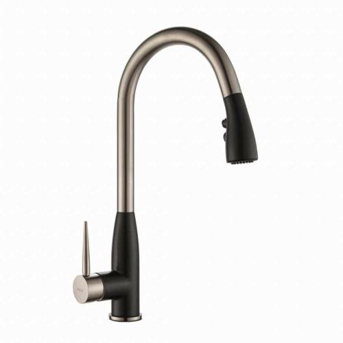KRAUS Geo Arch SingleHandle PullDown Sprayer Kitchen Faucet