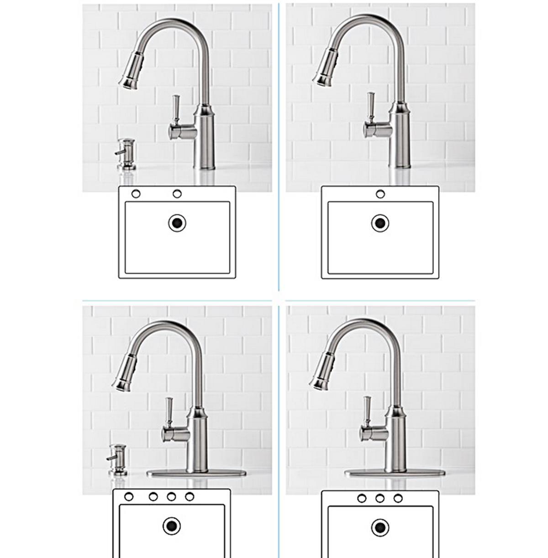 Kitchen Soap Dispenser w/Reflex