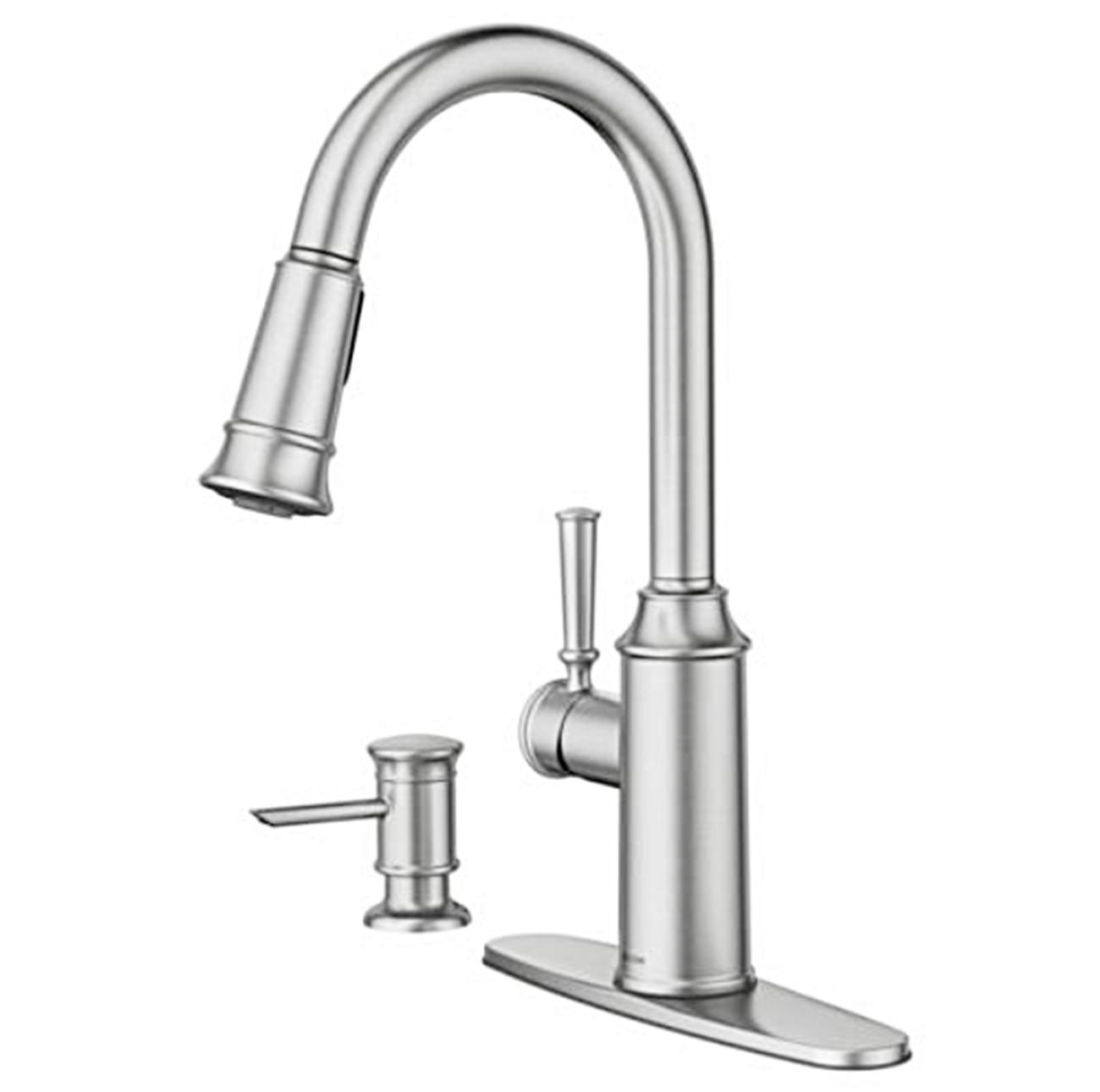 Moen 87731SRS Kitchen & Dispenser New