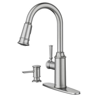glenshire 87731srs stainless kitchen faucet